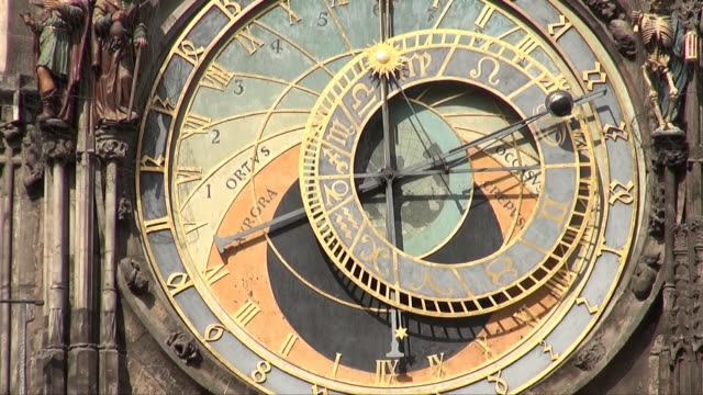 astronomical clock in prague - 使徒点の映像素材/bロール