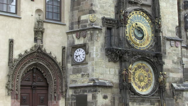 MS Astronomical clock on old town hall / Prague, Hlavni mesto Praha, Czech Republic