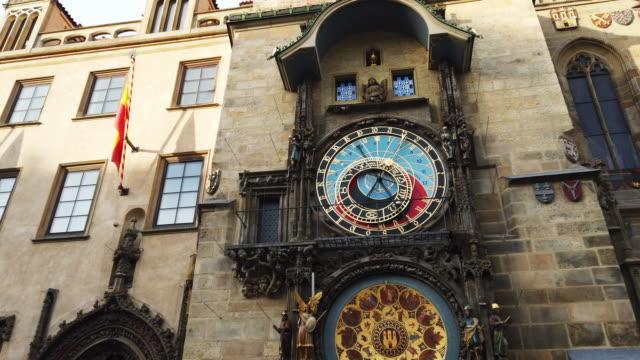 astronomical clock, prague - stare mesto stock videos & royalty-free footage
