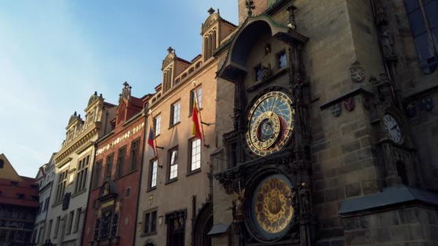 天文時計, プラハ - プラハ旧市庁舎点の映像素材/bロール