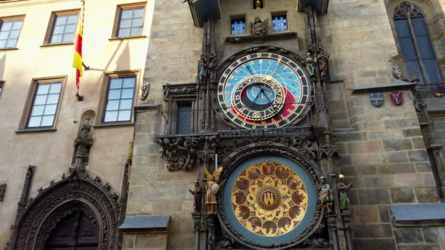 astronomical clock, prague - traditionally czech stock videos & royalty-free footage