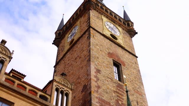 天文時計 - プラハ旧市庁舎点の映像素材/bロール
