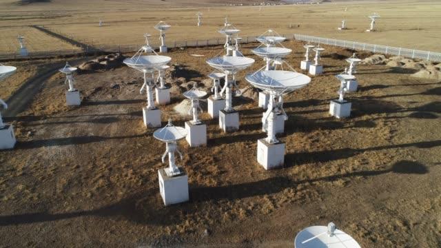 stockvideo's en b-roll-footage met astronomische telescoop station - astronomietelescoop