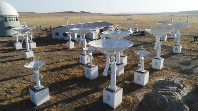 station de télescope astronomique