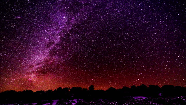 astrophotography time lapse milky way - constellation stock videos & royalty-free footage