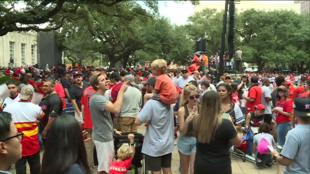 KIAH Astros Fans Come Out To Celebrate The City's First World Series Title