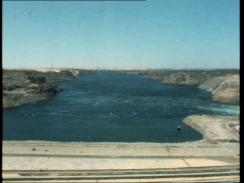 Aswan Dam **SHOTLIST