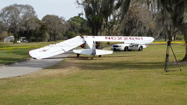50 SOT with an eyewitness A father and son pilot flying from Lakeland landed on Lakewood Estates Community Golf Course after the plane experienced a...