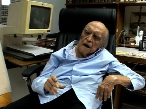 at 102 yearsold architect oscar niemeyer still heads to work every day rio de janeiro brazil - oscar niemeyer stock videos and b-roll footage
