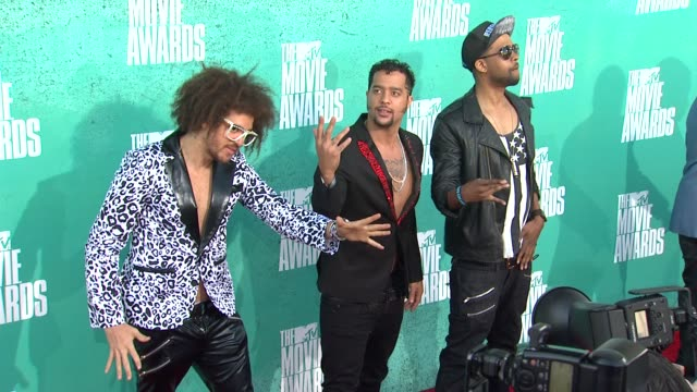 at 2012 mtv movie awards - arrivals at gibson amphitheatre on june 03, 2012 in universal city, california - universal city video stock e b–roll