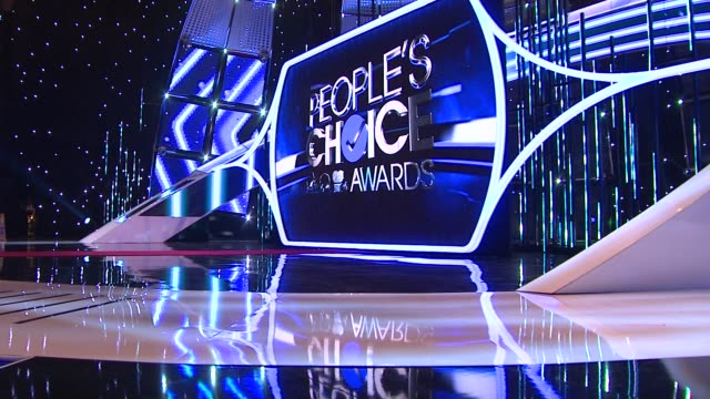 ATMOSPHERE at 2014 People's Choice Awards Media Day in Los Angeles CA