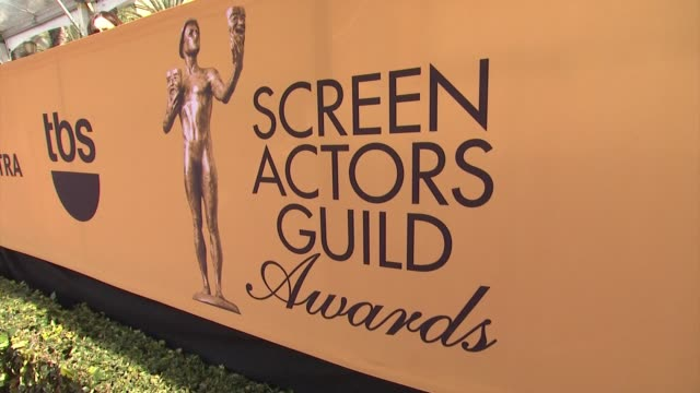ATMOSPHERE at 21st Annual Screen Actors Guild Awards Arrivals in Los Angeles CA