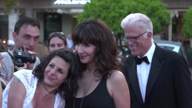 at 52nd annual monte carlo television festival ted danson and mary steenburgen at 52nd annual mon on june 12 2012 in monaco monaco - mary steenburgen stock videos & royalty-free footage