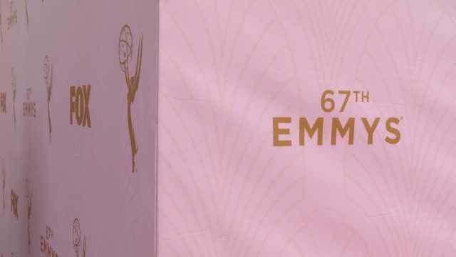 ATMOSPHERE at 67th Annual Primetime Emmy Awards in Los Angeles CA