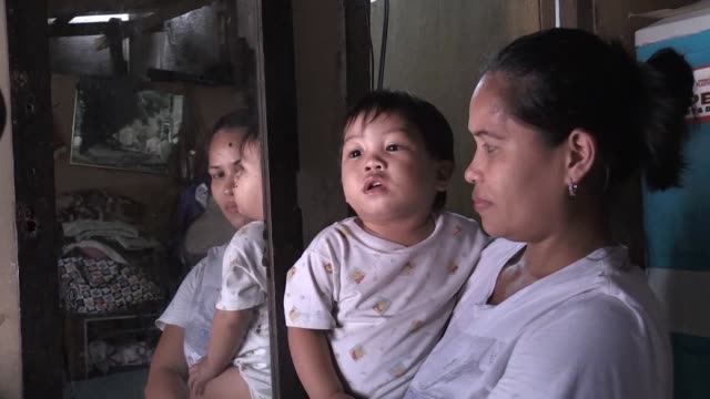 At age 33 and raising six children in a slum named Paradise Village Myrna Albos is Exhibit A for the Philippines serial family planning failures