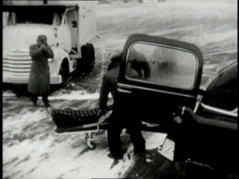 jfk at airport being transported by stretcher jackie kennedy looking around / united states - stretcher stock videos and b-roll footage