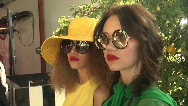 "ATMOSPHERE at Alice Olivia by Stacey Bendet ""Eyewear is Art"" Launch in Los Angeles CA"