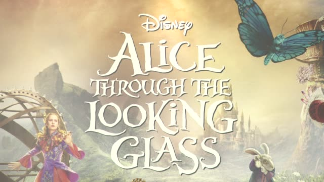 ATMOSPHERE at Alice Through the Looking Glass Press Conference on May 08 2016 in London England