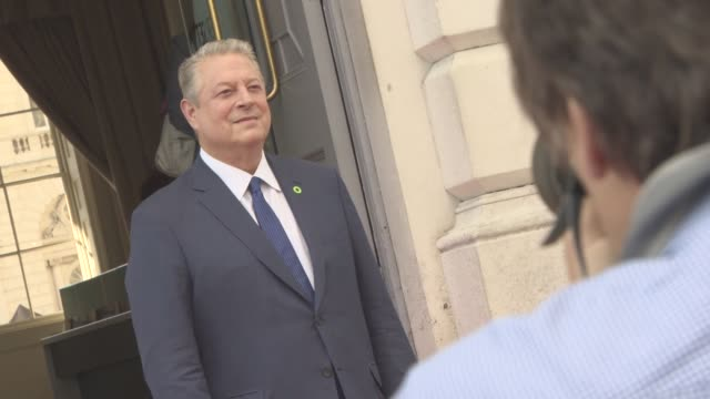 clean at 'an inconvenient sequel truth to power' uk film premiere on august 10 2017 in london england - gore stock videos and b-roll footage