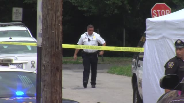 53 pm saturday chester police responded to a call on the 1200 block of thomas street the caller stated the victim was not breathing after being shot... - pennsylvania stock videos and b-roll footage