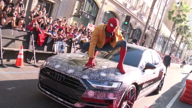 "ATMOSPHERE at Audi Arrivals at The World Premiere of ""SpiderMan Homecoming"" in Los Angeles CA"