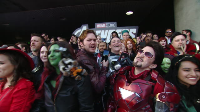 """ATMOSPHERE at Audi at the World Premiere of """"Avengers Endgame"""" in Los Angeles CA"""