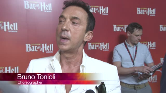 chyron at bat out of hell the musical opening night at london coliseum on june 20 2017 in london england - london coliseum stock videos and b-roll footage