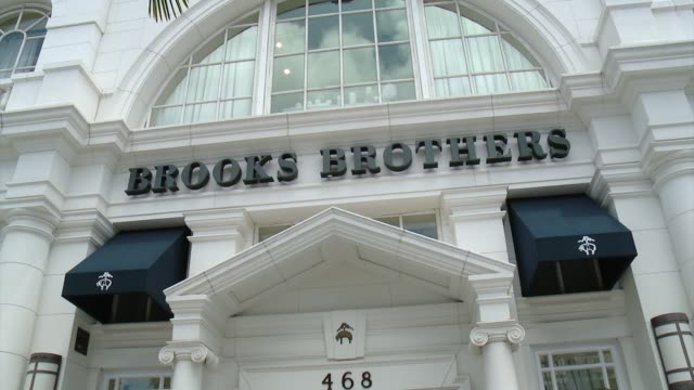 atmosphere at brooks brothers hosts mini classic golf tournament to benefit st jude children's research hospital at brooks brothers beverly hills at... - st. jude children's research hospital stock videos and b-roll footage