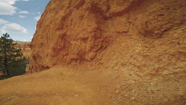 ブライスキャニオン国立公園では、ブートレイルを覗く - ブライス峡谷点の映像素材/bロール