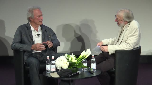 At Cannes Clint Eastwood gives a masterclass on cinema to an assembly of film fans and professionals