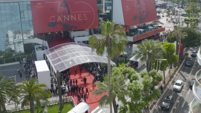 LASPE at Cannes Film Festival 70th Celebration Red Carpet at Palais des Festivals on May 23 2017 in Cannes France