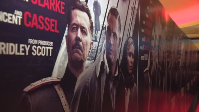ATMOSPHERE at 'Child 44' at Vue Leicester Square on April 16 2015 in London England