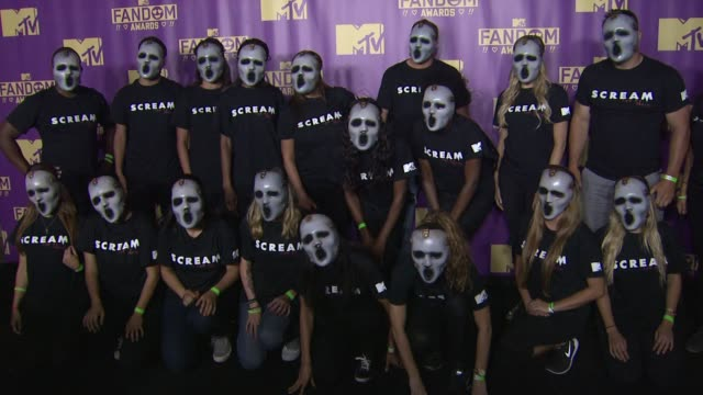 atmosphere at comiccon international 2015 mtv fandom awards on july 09 2015 in san diego california - mtv1 stock-videos und b-roll-filmmaterial