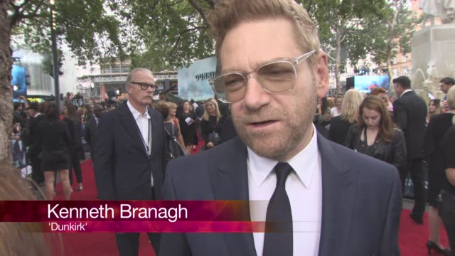 CHYRON at 'Dunkirk' World Premiere on July 13 2017 in London England