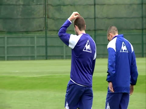 at Finch farm in October 2011 with focus on Forward James McFadden in Liverpool England