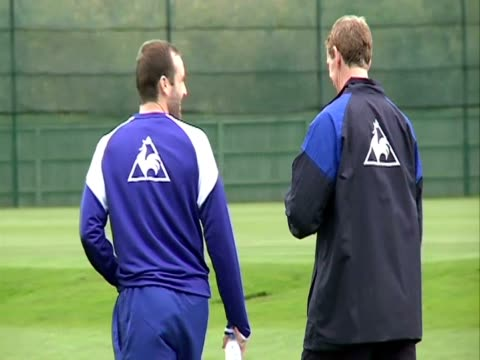 at Finch farm in October 2011 with focus on Forward James McFadden James McFadden in Liverpool England