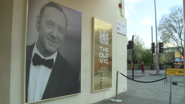 views at gala celebration in honour of kevin spacey on 19th april 2015 in london england - ehre stock-videos und b-roll-filmmaterial