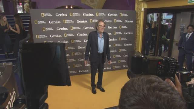 vidéos et rushes de at 'genius' screening at cineworld haymarket on march 30, 2017 in london, england. - haymarket