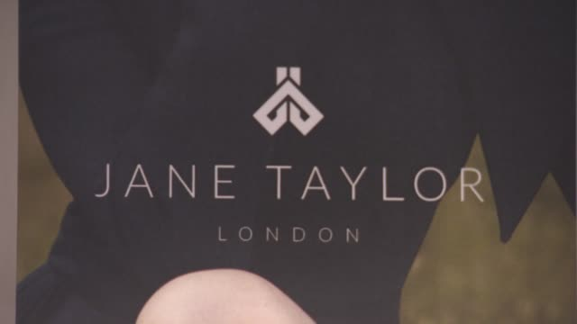 at jane taylor millinery - store opening on december 01, 2015 in london, england. - caprice bourret video stock e b–roll