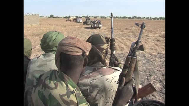 at least 100 militants have been killed in an operation launched a fortnight ago against boko haram jihadists holed up in the islands of lake chad... - friday stock videos & royalty-free footage