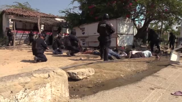 At least 11 people were killed in armed clashes in Acapulco between civilians community guards and police according to Guerrero authorities who have...