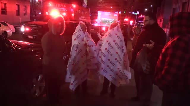 at least 12 people dead and 15 were seriously injured in a massive building fire in new york city late thursday press secretary for the new york... - bronx zoo stock-videos und b-roll-filmmaterial