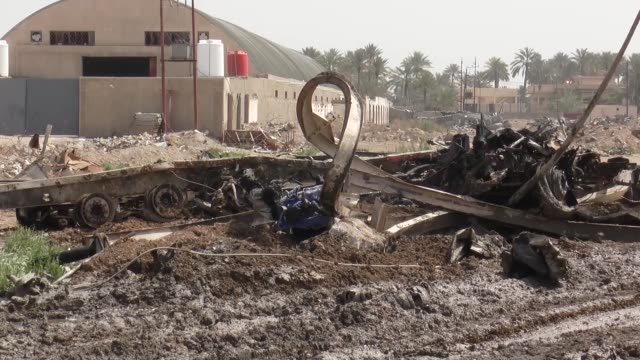 At least 15 people were killed and 26 others injured a car laden with explosives went off in a check point in the Iraqi capital of Baghdad on March...