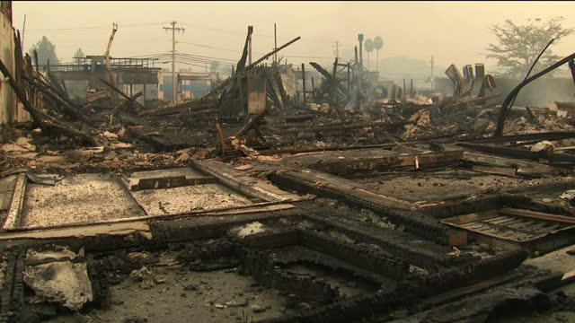 At least 17 people have now died as firefighters in Northern California battle to control wildfires which have destroyed thousands of homes and...