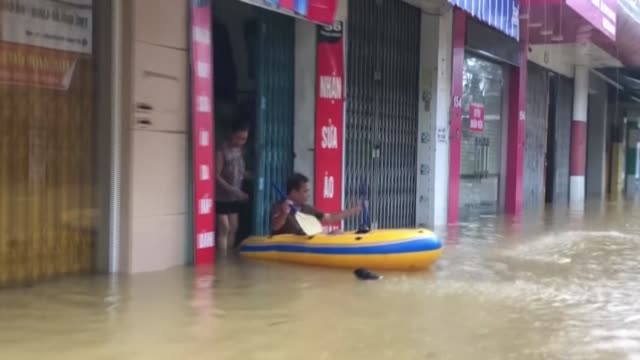 at least 18 people died and more than a dozen are missing after floods submerged homes in central vietnam and rough seas capsized fishing boats,... - pacific ocean stock videos & royalty-free footage