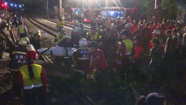 At least 22 people have died after an express train derailed and flipped over on a popular coastal tourist route in Taiwan on Sunday the island's...
