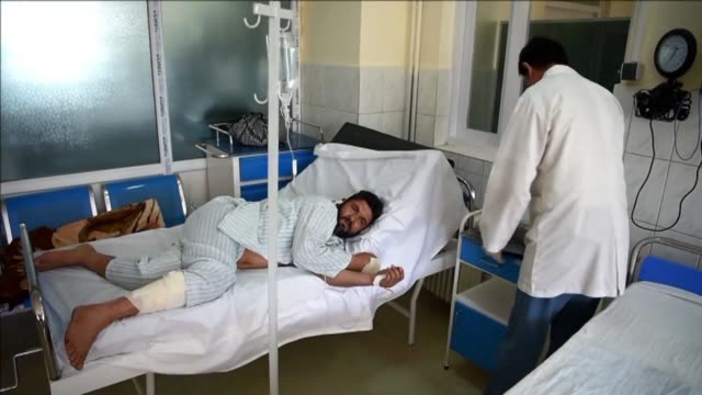 at least 24 people are killed and 42 wounded after a taliban car bomb struck a bus carrying government employees in western kabul the latest attack... - kabul stock videos & royalty-free footage