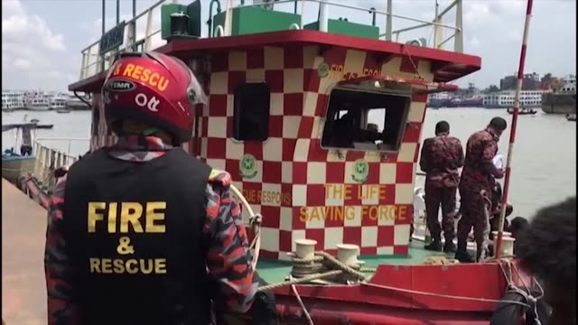 at least 30 people died and a dozen are missing after a ferry capsized in the bangladeshi capital dhaka following a collision with another vessel - dozen stock videos & royalty-free footage