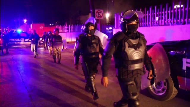 at least 30 people died in a prison riot in the northern mexican city of monterrey on thursday local media reported - northern mexico stock videos & royalty-free footage