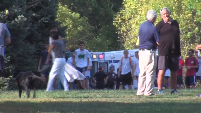 At least 5 confirmed runners were rushed to the hospital due to heat exhaustion at Delco Champs Cross Country race